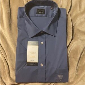 Men's SS button down-XL
